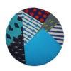 kotulla blanket cushion bunt, blau, türkis
