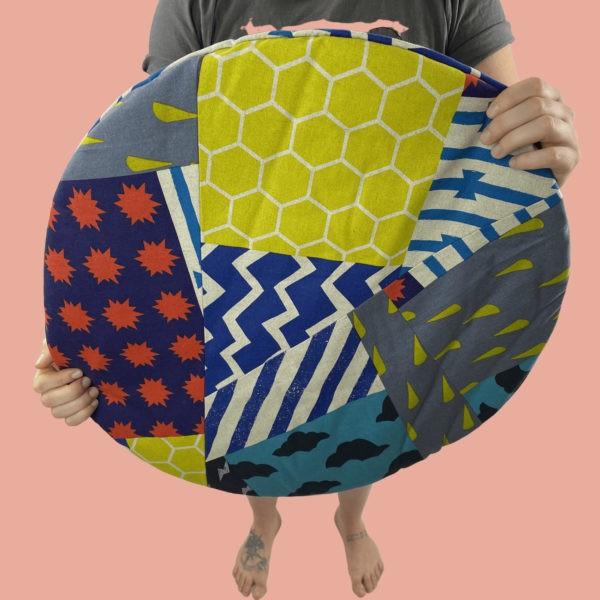 kotulla blanket cushion bunt, komplett gemustert