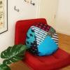 kotulla blanket cushion bunt, türkis
