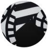 kotulla pj cushion schwarz, weiss, geometrisch gemustert